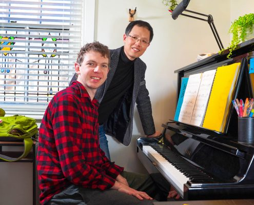 Piano teacher for adults